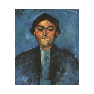 pedro the typhographer by amedeo modigliani