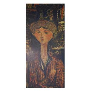beatrice hastings in fron of the piano by amedeo modigliani