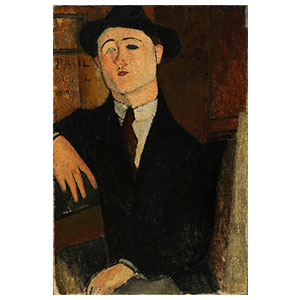 PAUL GUILLIAUME SEATED BY AMEDEO MODIGLIANI