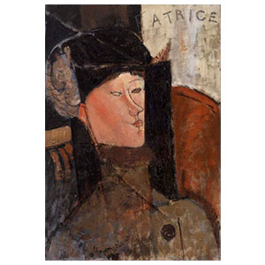 beatrice hastings - Amedeo Modigliani