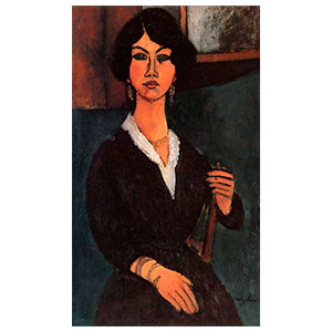 almaise seated by amedeo modigliani
