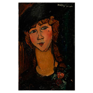 lolotte by amedeo modigliani