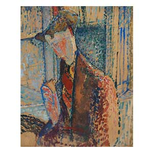 burty haviland by amedeo modigliani