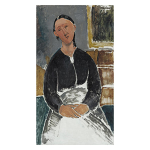the nanny or la fantesca by amedeo modigliani