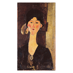 beatrice hastings by amedeo modigliani