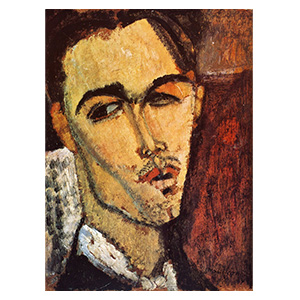 PAINTER CELSO LAGAR BY AMEDEO MODIGLIANI