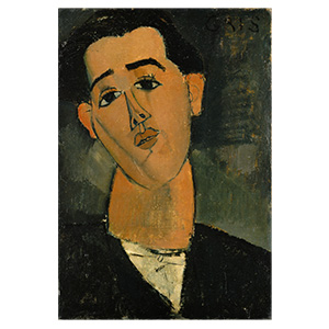 Juan Gris by amedeo modigliani