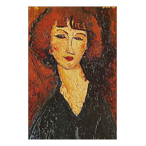 young woman of montparnasse amedeo modigliani