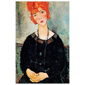 lolotte with necklaceamedeo modigliani